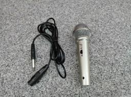 Microfone Profissional Com Fio Le-701 - Lelong Karaokê