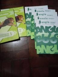 Livros de biologia ,pre vestibular anglo