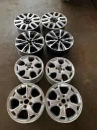 Vendo rodas e pneus