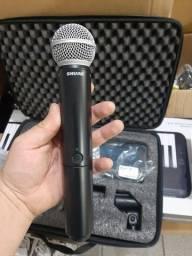 Microfone Shure Sm58 sem fio