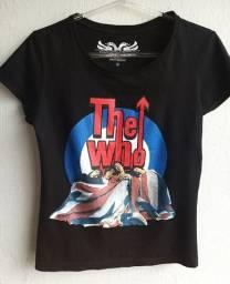 Camiseta the who - cavalera tam m