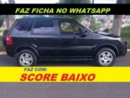 Aprovo financiamento com score baixo aprovo financiamento sem entrada Ford EcoSport