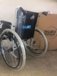 Cadeira de Rodas Dobravel Resistente