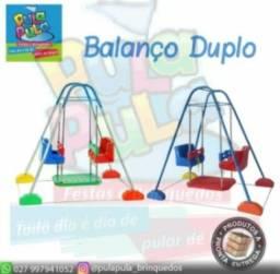 Título do anúncio: Balanço Duplo (2 Lugares) - Brinquedos e itens de Playground - Á pronta entrega
