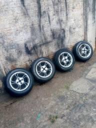 Rodas com pneus 175/70/14