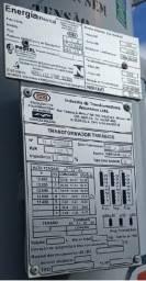 Transformador 112,5 kva e poste 9,00m Duplo T