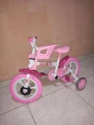 Bicicleta infantil da princesinha