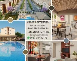 Título do anúncio: A= Village Alvorada 1, apartamentos com 2 quartos, 43 m²