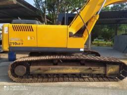 Escavadeira 210 LC somente venda parcelo
