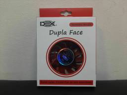 Kit 5 fan Cooler DEX dupla face vermelho
