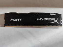 Memoria RAM HyperX Fury 4GB 2400MHz