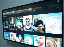 SmarTV 43' vendo ou troco por ( Notbook, pc ou cel )
