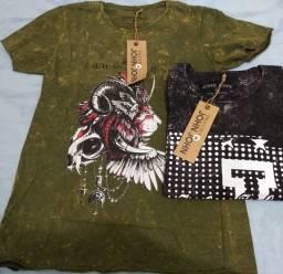 Camisas jonh jonh pre lavada Tam p e m kit 2 por 65