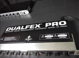 Processador Behringer Dualfex Pro Ex 2200