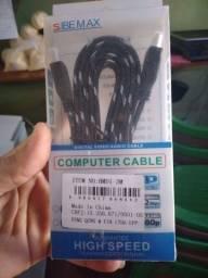 Cabo HDMI reforçado de boa qualidade