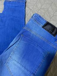 Calça Jeans masculina Skinny tam. 46 - Blue Steel