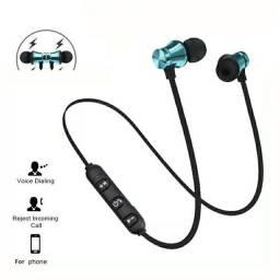 Fone De Ouvido Magnético Com Bluetooth Estéreo