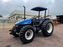 New Holland TL 95 ano 2008 motor mwm