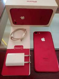 IPHONE 7. RED 128 GB. (TODO ORIGINAL)