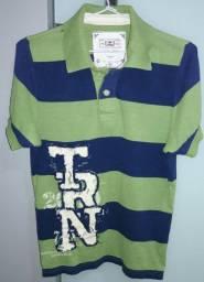 Camisa Polo - Manga Curta - Marca: Triton