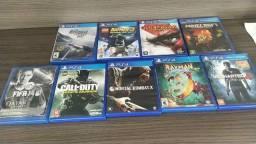 Vendo jogos ps4 400 todos ou 60 cada semi novos original