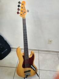 Baixo Condor Jazz Bass 5 Cordas