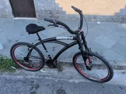 Bike Praiana Anda Muito Na pista