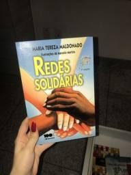 Título do anúncio: livro redes solidárias