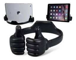 Suporte De Mesa Para Celular Smartphone Tablet Ipad Maozinha