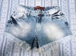 Short Jeans desbotado