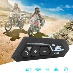 Bluetooth bt22 para capacete de moto, similar ao intercomunicador