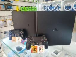 PS4 SLIM 1TB OU 500GB + 30 JOGOS + 06 MESES GARANTIA