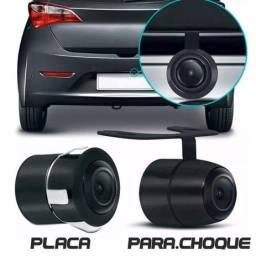 Câmera De Ré 2 em 1 Estacionamento Visão Noturna/colorida/resistente a água