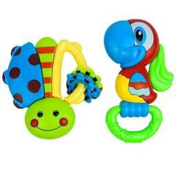 Chocalho Para Bebês Barulhinho Brinquedo Infantil