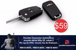 Chave Canivete Chevrolet Onix / Cobalt / Spin / Cruze