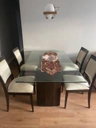 Título do anúncio: Conjunto de Mesa com Cadeira Sier para Sala