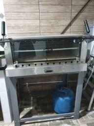 Forno industrial refratário