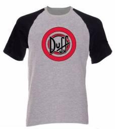 Camiseta Raglan Duff The Simpson<br><br>