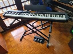KIT Piano digital Casio - CDP S350 + pedal triplo + estante