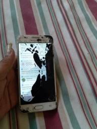 Vendo Samsung J5 com display queimado r$ 100 não abaixa o valor