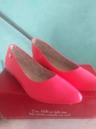 Sapatilha Rosa  neon