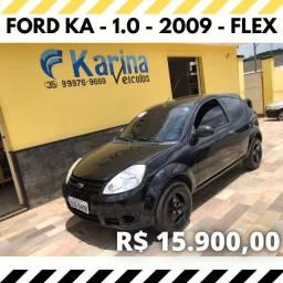 Ford Ka - 1.0 - 2009 - Flex - Carro imperdível!!!!!