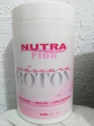 Máscara Botox sem formol Nutra Fios. Para salão cosmético.