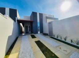 DP casa nova com arquitetura moderna, 2 quartos 2 banheiros com fino acabamento