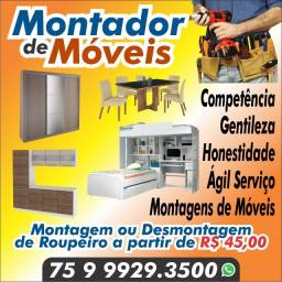 Montador de móveis Alagoinhas