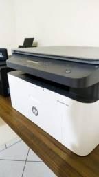 Impressora Hp Laserjet Pro 135w Com Wifi Branca E Preta 110v - 127v