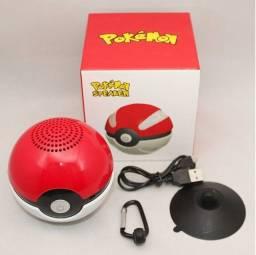 Título do anúncio: Caixa De Som Pokebola Pokémon Speaker Bluetooth