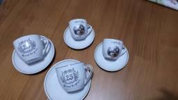 Jg bodas de prata antigo 8pçs