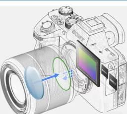 Câmera Sony Alpha a7III Mirrorless (Corpo)<br><br>