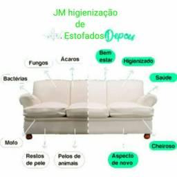JM higienização de estofados